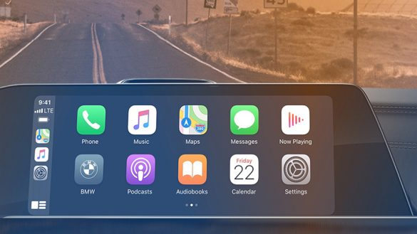 Apple-Carplay-Vorbereitung