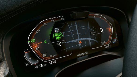 BMW 5er TouringPlug-In Hybrid Fahrerassistenzssysteme