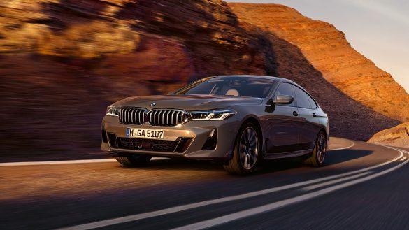BMW 6er Gran Turismo von links vorne