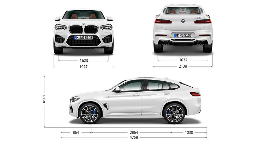 Technische Daten BMW X4 M