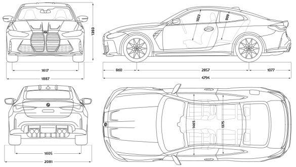 Technische Daten BMW 4er Coupé M