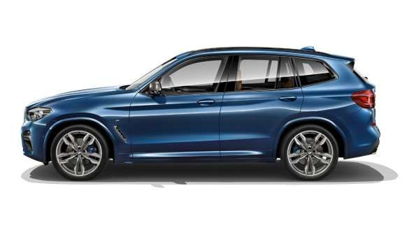 BMW X3 linke Seite