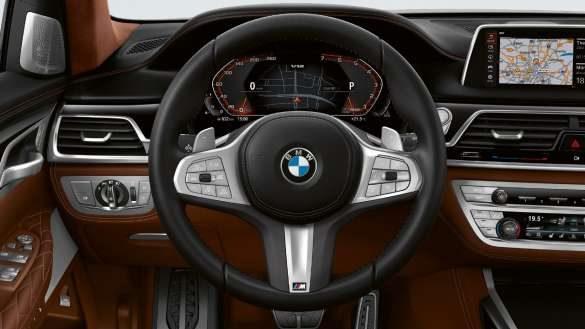 BMW M760Li xDrive M Lederlenkrad