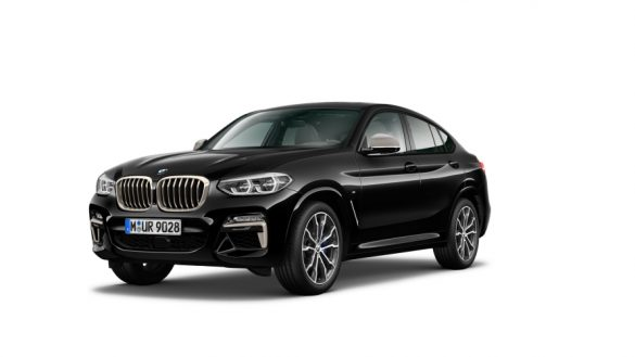 BMW X4 M40i G02 LCI 2021 Facelift Dreiviertel-Frontansicht