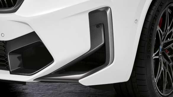 M Performance Lufteinlassblenden Front BMW X3 M Competition F97 LCI Facelift 2021
